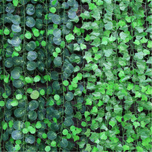 2015 real look 4 style for weeding home garden window stairs decoration plastic artificial Vines ratten plant