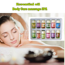 12 Kinds of Fragrance Essential Oil Pack for DIY Aromatherapy Humidifier Fragrance lamp Purifying air Spa Bath Lavender Oil