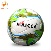 MAICCA  high Quality Size 4 Anti-slip PU Graded Soccer Ball Slip-resistant Football for Match Training