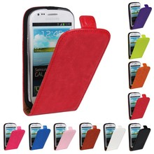 Cover For Samsung Galaxy S3 Mini i8190 Phone Bags Fashion Vertical Flip Leather Case For Samsung Galaxy S3 Mini Luxury PU Shell