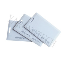 10pcs TK4100 RFID clamshell thick card 125KHZ ISO7816 EM4100 Low frequency ID access control card