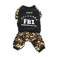 Buy Clothing Dog Coats & life Jackets FBI Camouflage Costume Jumpsuit Winter Coat Pet Puppy Small Dog Clothes Plus Supplies for $7.71 in AliExpress store