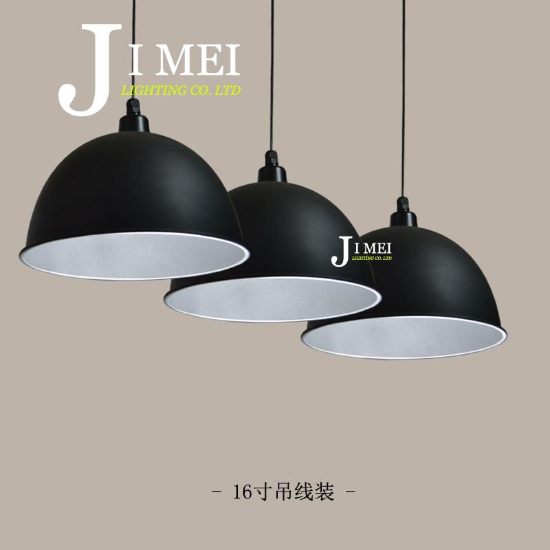 3pcs Industrial Light Industrial factory lamp shade plant lights supermarket restaurant open office hall chandelier lighting zzp<br>