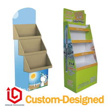 paper display stand | paper pile head |billboards | paper display for market shopping jewlery wartch CD cosmetic(China)