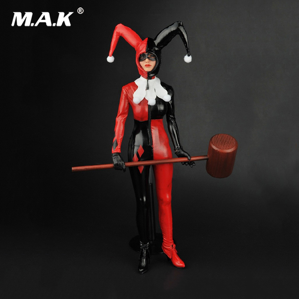 1/6 Scale Suicide Squad Joker Harlep Quinn Female Clothes Shoes Set for 12 inches Action Figure<br>