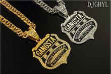 DJGHYL Free shipping round hiphop Medusa necklace trend hip-hop pendant lovers necklace big and small styles for choices