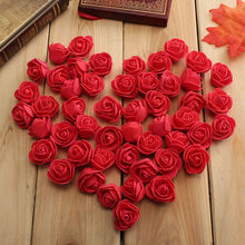 Fast SHIPPING 10Colors Wholesale 50PCS/Bag PE Foam Rose Handmade DIY Wedding Home Decoration Multi-use Artificial Flower Head(China)