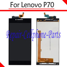 Buy Black 100% New Full LCD DIsplay + Touch Screen Digitizer Assembly Replacement Lenovo P70 LTE Free for $17.50 in AliExpress store