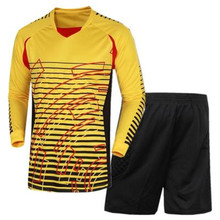 New Arrival Soccer Goalkeeper Uniform Comfortable Football Kits Men Hot Selling Soccer Sets Goalkeeper Suit Sportswear(China)