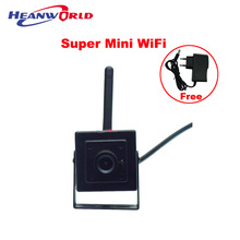 Mini IP Camera 720P WiFi Smart App Wireless CCTV Security Camera Support 64G Micro SD Card Recording and mobile Phone remote