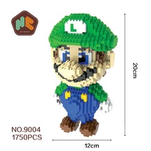 Bevle HC 9004 Super Mario Diamond Magic Block Doll  Bricks Diamond Building Blocks   Toys Compatible with Lepin