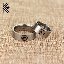 Linkin Park Symbol Rock Music Stainless Steel Band Ring 2016 New Jewelry Wholesale Retail