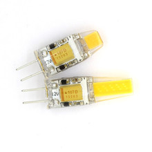 CE&RoHS LED Lamp G4 Dimmable Bulb SMD COB AC DC 12V 3W 6W Candle Lights Replace 20W 30W 40W Halogen for Chandelier(China)