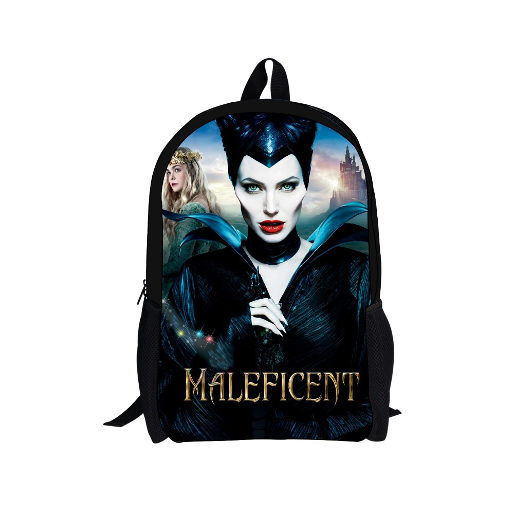 New Arrival Women Bags Maleficent Character Backpacks Lady Shoulder Bags 3D Printing Backpacks Kids Backpacks Men Gifts Bagback<br><br>Aliexpress