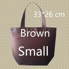 26*33*10 Small Size Shopping Bag Foldable Reusable Grocery Bags Convenient Totes Bag Shopping Red Cotton Tote Bag