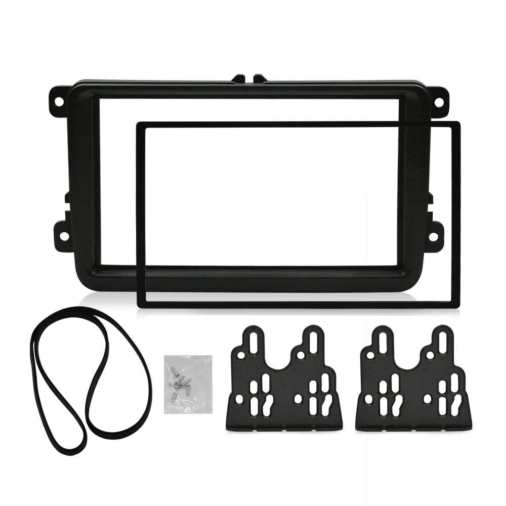 Detail Feedback Questions About 2 Din Car Radio Fascia For Dash Kit Panel Wiring Stereo Fitting Volkswagen Mount Installation Double Frame Install