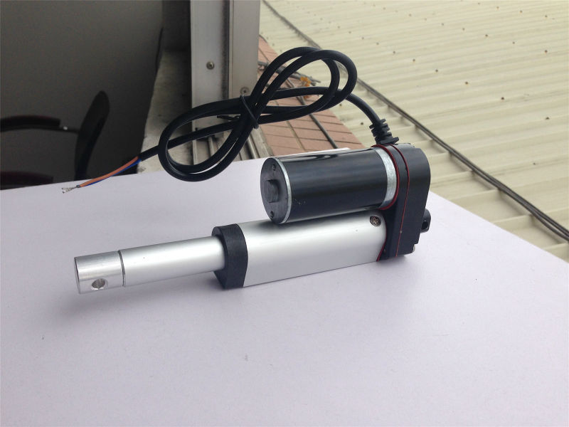 Heavy Duty Linear Actuator 50mm Stroke 2 10mm/s DC 24V Max Load 330lbs 150kgs for Stage Machinery<br>
