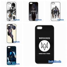 Coque Enjoy Watch Dogs Game Phone Cases Cover For 1+ One Plus 2 X For Motorola Moto E G G2 G3 1 2 3rd Gen X X2(China)