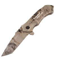 Tactical Brand Folding Knife Pocket Hunting Camping Utility Portable Knife Survival Combat Rescue Multi Tool Cold Steel Handle