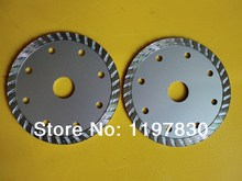 Free shipping 10PCS of 105*20*1.8*7mm cold press diamond turbo segmented saw blades DIY quality for marble/granite/tile/cutting(China)
