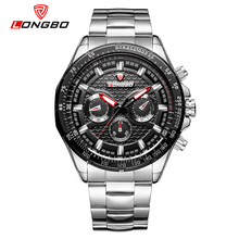 LONGBO Brand Fashion Military Men Watches Casual Stainless Steel Band Sports Watch Dynamic Classic Male Wristwatch 80298(China)