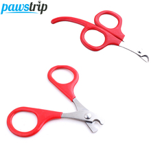 1PC Profession Dog Nail Clippers Toe Claw Scissors Trimmer Pet Grooming Products For Small Dog Cats(China)