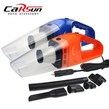 120W 12V Car Vacuum Cleaner Super Suction Portable 5m Cord Cable Wet&Dry Dual Use Handheld Auto Cleaner Turbocharging
