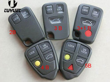 Remote Control Key Shell for Volvo C30 C70 S40 S60 S80 LXC90 Empty Blank Key Case