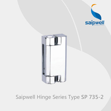 Saipwell 180 Degree Cabinet Hinge Slide Hinge Freezer Hinge SP735-2 in 10-PCS-PACK