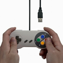 2016 USB Controller Gaming Joystick Gamepad Controller for Nintendo SNES Game pad for Windows PC MAC Computer Control Joystick