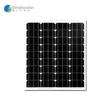 Portable Cheap China Solar Cell Modules Plate 70W Watt Waterproof Mono Panel Solar Fotovoltaico Cell 12V PVM 70W