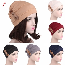 Shawl Wrap Women Cancer Chemo Hat Beanie Scarf Turban Head Wrap Cap Hat Sjaalhoed(China)