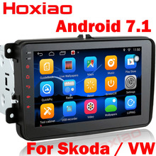 2 Din Android 7.1 Univeral Car DVD Player For VW/Volkswagen/Passat/POLO/GOLF/Skoda/Seat/Leon With GPS Navigaiton WIFI Map Radio(China)
