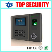 Free shipping TCP/IP biometric fingerprint time attendance and access control with back up battery 6 function keys time clock(China)