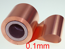 New 0.1mm thickness 200mm width Pure copper strip belt 1 meter length Pure copper sheet Copper foil
