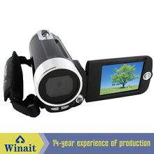 "Mini digital video camera DV-009 12mp 4X digital zoom 2.4"" LCD diaplay cheap photo camera digital video camcorder(China)"