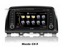 For Mazda 6 2013~2014 - Car GPS Navigation System + Radio TV DVD iPod BT 3G WIFI HD Screen Multimedia System(China)