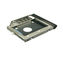 Wzsm novo 9.4mm 2nd sata hdd ssd disco rígido caddy para lenovo ideapad 110-14isk 110-14ibr
