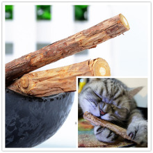 2 Pcs/bag Cat cleaning teeth Pure natural catnip pet cat molar Toothpaste stick fruit Matatabi cat snacks sticks hga(China)