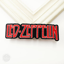 LED-ZEPPELIN (Size:3.6X11.4cm) DIY Cloth Badge Mend Decorate Patch Jeans Jackets Bag Clothes Apparel Sewing Decoration Applique(China)