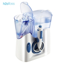 h2ofloss Oral Irrigator New hf - 8 Oral Irrigator Electric Teeth Cleaning Machine Irrigador Dental Water Flosser Water Jet Floss(China)