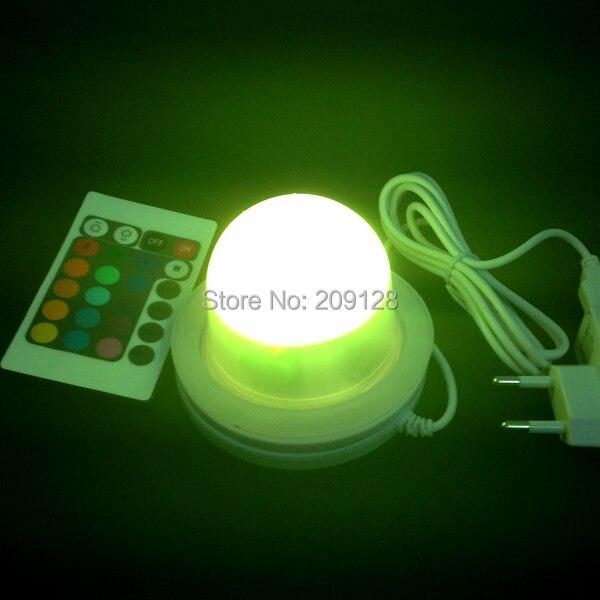 Super bright 12pcs leds RGBW led battery powered light<br>