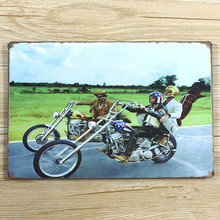 "SYF-285 Free ship "" big indian motorcycle "" Retro vintage Metal tin signs  plaque Painting Home decor wall art craft  20x30cm"