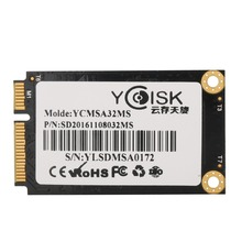 Goldendisk YCdisk Serial SMI 2244LT 32GB Intel SSD mSATA Solid State Drive SSD 32gb SATA II 3gb/s Factory on Stock Intel Flash(China)