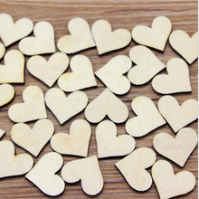 Heart Shape Miniature Figurine Wooden Craft Home decoration fairy garden animal Building Accessory statue Shooting tool TNB120(China)