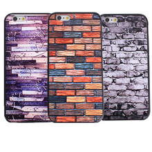 Colorful Brick Pattern Mobile Phone Bags For Apple Iphone 6 6S Cases 4.7 Inch Hard Plastic Covers For Iphone6S Cases