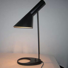 Replica Louis Poulsen Arne Jacobsen Table lamp 5 colors for option. Europe AJ Desk Lamp Cafe Aisle Hall read Lights LED bulb E27(China)