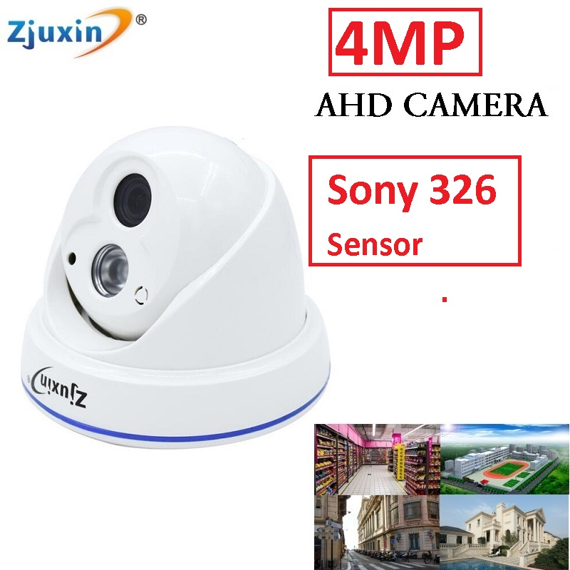 1PC 4MP AHD Camera  indoor 1 array LED Night Vision this 4MP AHD camera For 4MP AHD security camera system<br>