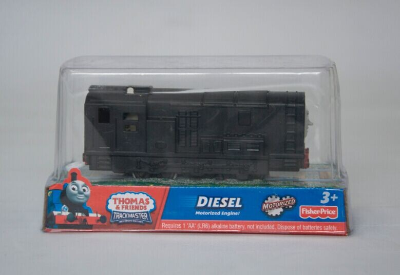 DIESEL train, Electric Thomas And Friend Trackmaster Engine Motorized Train - Henry & Truck , Plastic Toy Train(China (Mainland))