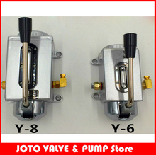 Buy Manual oil pump Y-8 Lubricating pump Punching pump CNC machine tool oiler